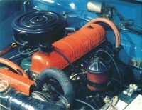 The little 169.6-cubic inch six received overhead valves in 1961, boosting horsepower to 112.
