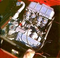 The S800's 791cc engine rated at about 72 horsepower.