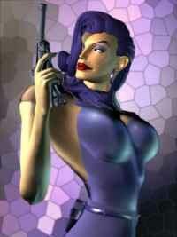 Brigitte Blue, Vikki's nemesis