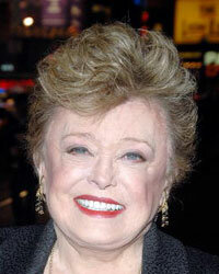 Rue McClanahan at the opening of a Broadway play in February 2009.