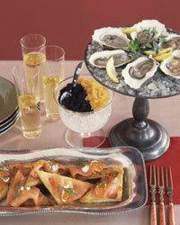 Any meal that features oysters, caviar and Champagne in the same course is guaranteed to break the bank.