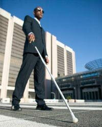 The white cane used by many visually-impaired people may soon be replaced with a Kinect-based alternative.