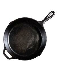 Many cooks prefer cast iron skillets to non-stick cookware since they cook more evenly.