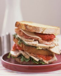With all the time you save not cooking, how about making a double-decker turkey sandwich?