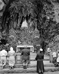 The Grotto Sanctuary in Portland is a favorite spot to bring pets.