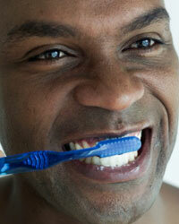 You should replace your toothbrush every three to four months.