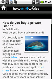 The app is free, so it won't be contributing to our private island fund.