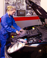 Diagnosing a sensor problem is usually fairly easy -- as long as you have your own diagnostic code reader.