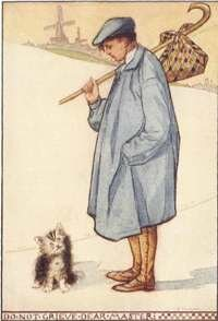 Puss in Boots was one of Mother Goose's fairy tales.