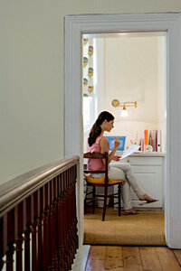 For teleworkers, sometimes having a separate office space at home can help you stay focused during the workday.