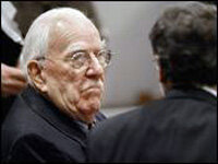 George Weller at his trial