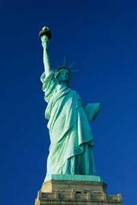 Image Gallery: Famous Landmarks France gave the Statue of Liberty to the U.S. in honor of the nation's centennial. See more pictures of famous landmarks.