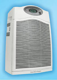 An air purifier that uses UV light.