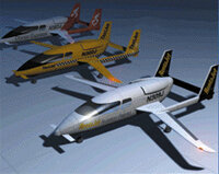Small, 4- to 8-passenger jets may operate from thousands of small airports across the U.S.