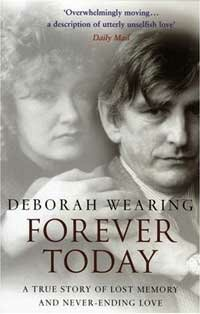 Clive Wearing and his wife, Deborah, pictured on the cover of her memoir about his amnesia.