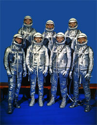The Mercury 7, NASA's first astronauts, were all military pilots.