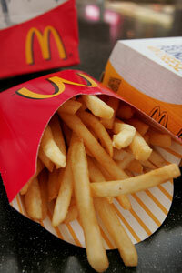 Gluten turns up in the most unlikely places. In 2006, McDonald's was sued because it hadn't informed the public that gluten and casein were used to make its french fries.