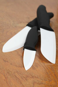 Knives made of ceramic are no match for backscatter X-rays, which pick up on all sorts of nonmetallic objects.
