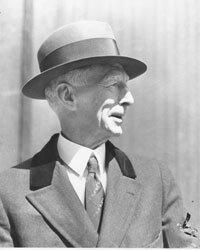 Legendary Philadelphia Athletics manager Connie Mack, circa 1936.