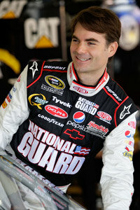 NASCAR star driver Jeff Gordon started his career racing midget cars.