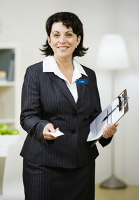 A BBB representative may conduct a site visit to a business that's applying for membership.