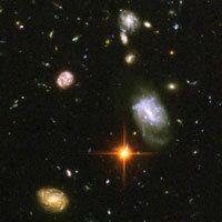 Ancient galaxies