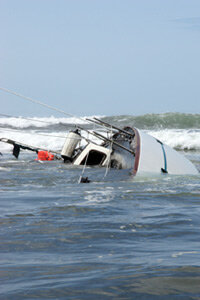 Another kind of boat tow­ing insurance covers situations at sea when a boater runs out of gas or has an accident and needs to be rescued.