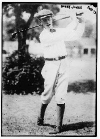 Bobby Jones is the only golfer to win four major championships in one year. See more pictures of the best golfers.