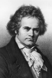 Ludwig van Beethoven may have been one of the first people to develop a device for hearing through bone conduction.