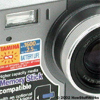Camera flashes make indoor photography possible without increasing exposure time. See more cool camera stuff pictures.