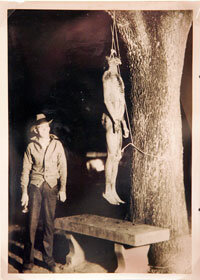 The corpse of Claude Neal, who was tortured, forced to commit autocannibalism and killed by white Southerners in Florida in 1934.
