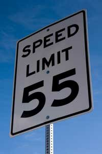 Can you drive 55? Should you? The right GPS device can let you know what the speed limit is at any given time.
