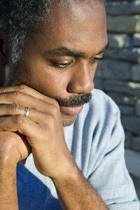 Taking care of a loved one can cause the caregiver stress. See more pictures of healthy aging.