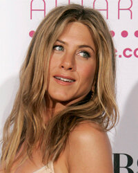 Jennifer Aniston's hairstyle became a hit in the 1990s.