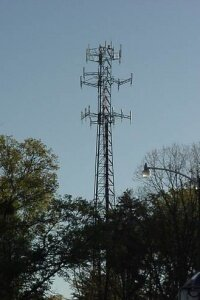 Cell phone towers come in many shapes and sizes.