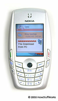 Cell phones can catch viruses when they download an infected file.