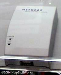 Netgear's printer connection