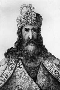 Charles the Great, better known as Charlemagne.