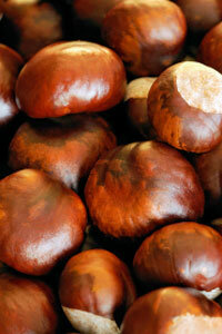 Chestnuts are a great natural food.