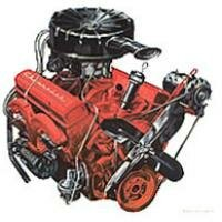 The Turbo-Fire V-8 was bored out to 283 cid for 1957, would be a Chevy performance mainstay into the '70s.