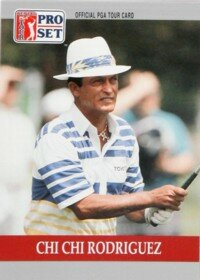 Chi Chi Rodriguez vowed to rise from poverty and succeed in golf. See more pictures of famous golfers.