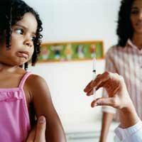 Most American children must receive the varicella vaccination before entering school.