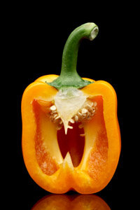 A pepper's heat comes from its membrane.