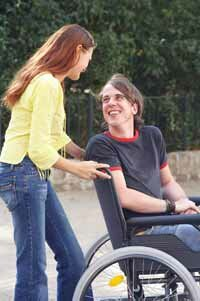 A wheelchair might be necessary as a result of deteriorating joints.