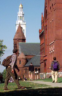 """The University of Vermont, once named best for """"tree-hugging...vegetarians"""""""