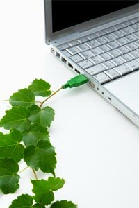 Electronics manufacturers are starting to offer eco-conscious options. See more computer pictures.