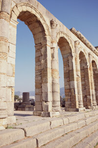 The Roman Ruins show the durability of concrete.