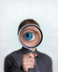 What do you see when you put yourself under a magnifying glass?
