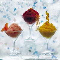 Shaved ice can be sophisticated, too.