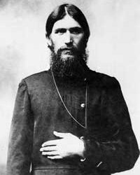A portrait taken in 1900 of Rasputin failing entirely to not look sinister.